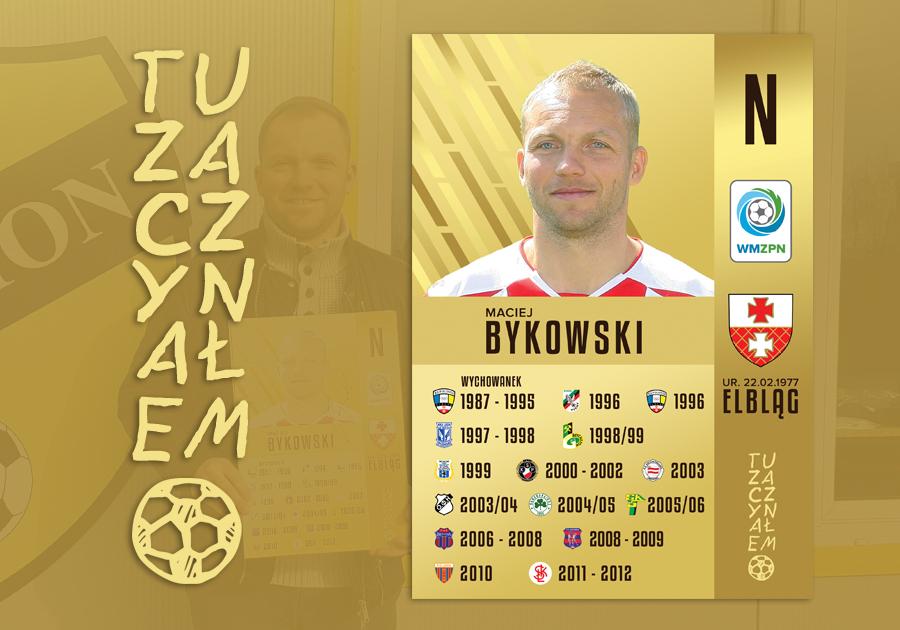 TuZaczynałem – Maciej Bykowski   WMZPN pl